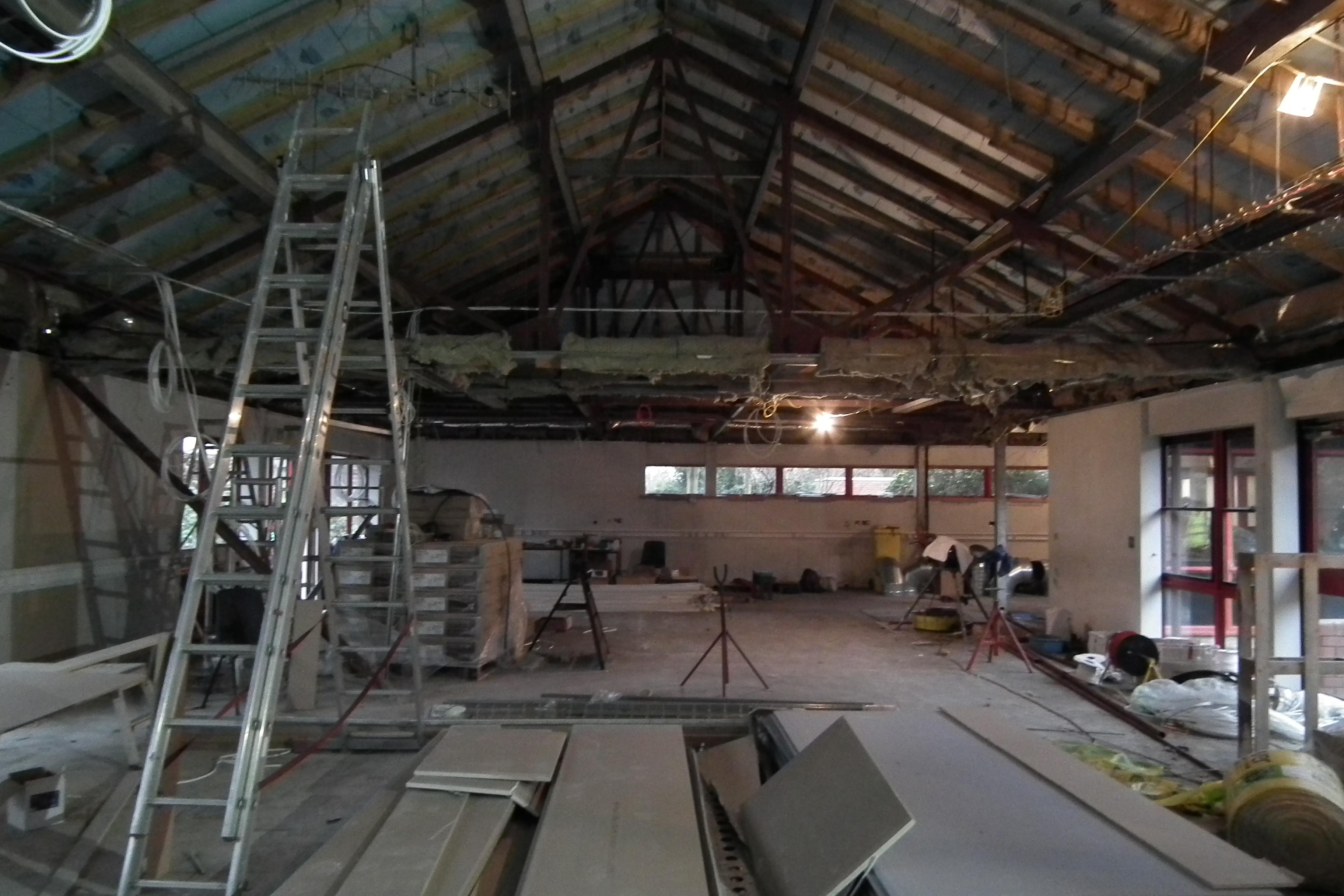 Arden Construction Saltway Centre Refurbishment Arden